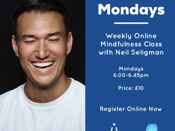 Weekly Mindfulness Class with Neil Seligman - Mindful Mondays